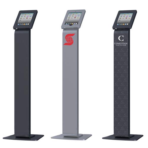 locking ipad ipad2 ipad3 kiosk - Ipad Floor Stand