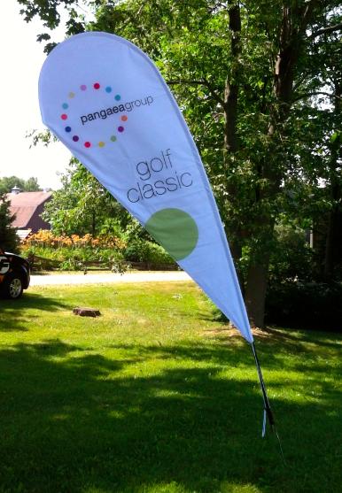 Pangeaa Golf Tear Drop Flag