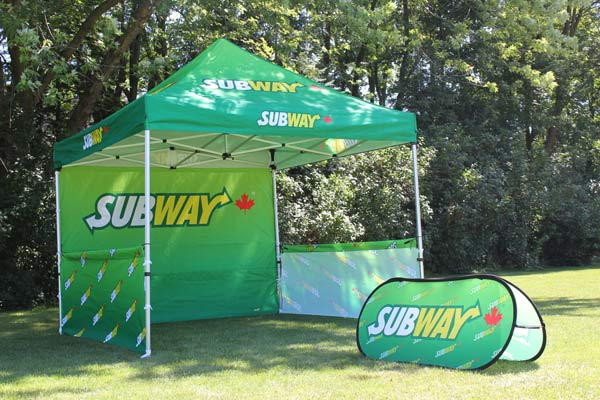 Subway Canada Event Canopy