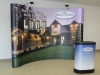 Builtmore Windows Flash 4x3 Pop Up display booth