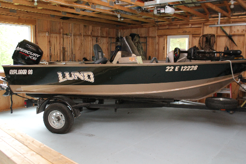 Lund boat graphics