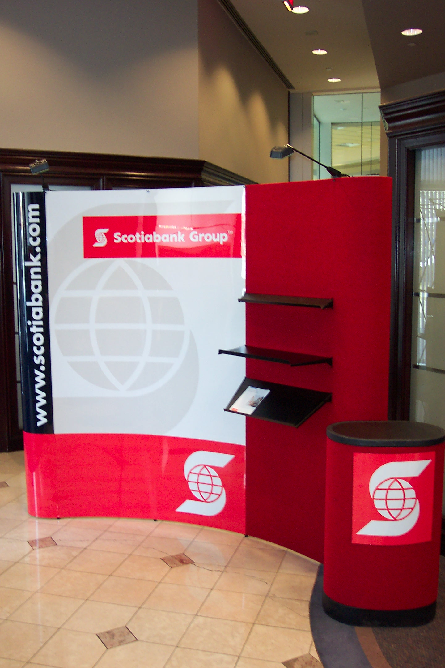 Scotiabank Pop-Up Display