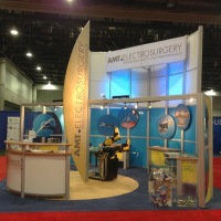 AMT Surgical | 20x20 Custom Exhibit  from Original 40x60 Display