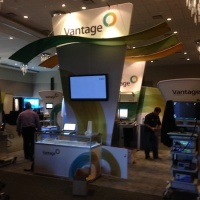 Vantage Surgical 40x40 Custom Tension Fabric Exhibit