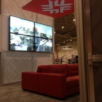 Fanshawe College | OCIT | Lounge and Video Wall