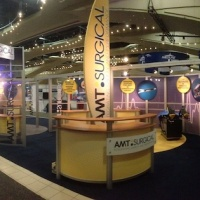 AMT Surgical | 40x60 Custom Exhibit  | View 1