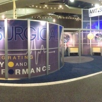 AMT Surgical | 40x60 Custom Exhibit  | View 2