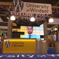 University of Windsor 50x60 Custom |  Reception Area