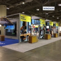 University of Windsor 50x60 Custom |  View from show entrance