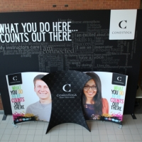 Conestoga College 10x20 Fabric Display