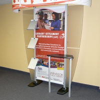 // New Canadians Library Kiosk