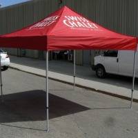 Swiss Chalet Event 10x10 Tent