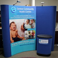 CentralCHC Flash 3x3 8ft Display