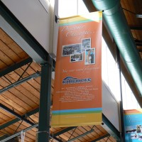Indoor Pole Mount Wall Banner