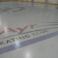 Jet Ice Arena Logo Stencils