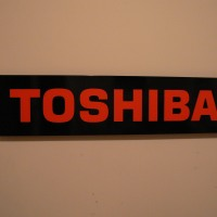Toshiba Interior Dealer Sign