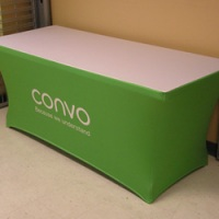 stretch fit fitted table cover