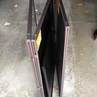 Maxi Folding Counter 3 Frame - Folded