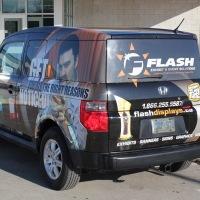 Flash Honda Element Event Cruiser - Back