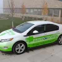 Waterloo Hydro Chevrolet Volt Full Wrap