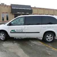 MLHU Health Unit Van: Dodge Caravan