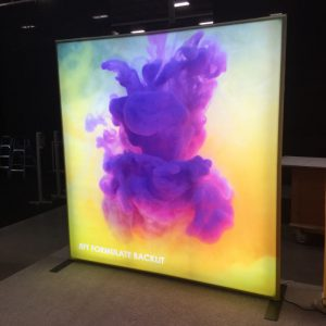 LED Backlit Fabric Lightbox Displays